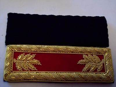 Civil War reproduction Shoulder boards Major Arty...FREE shipping in USA