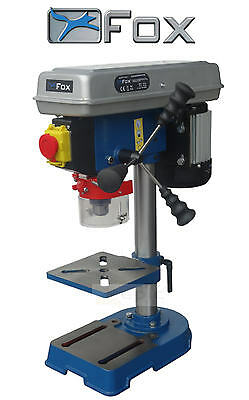 "FOX 5 Speed Bench/Table Top Pillar Drill/Drilling Press 240v 1/2"" Chuck F12-921A"