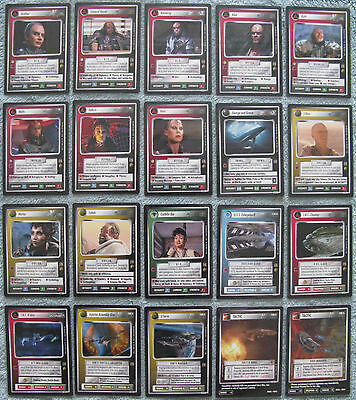Star Trek CCG The Motion Pictures TMP Uncommon Cards Part 2/2 69U - 128U