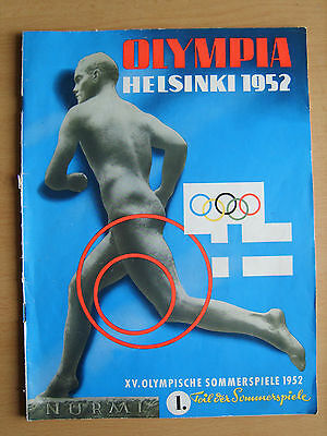 Vintage old Olympic games Helsinki 1952 review book magazine album part 1