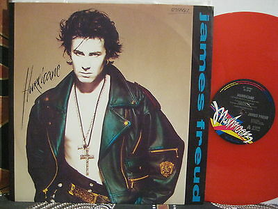 "JAMES FREUD Hurricane ~ LTD ED 1989 Translucent Red Vinyl 12"" 45 ~ The Models"