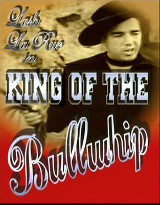 King of the Bullwhip Lash La Rue, Anne Gwynne New Sealed DVD FAST FREE SHIPPING