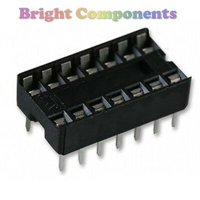 20 x Brand New 14 Pin DIL DIP IC Socket - 1st CLASS POST