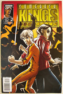 COMEBACK KINGS Comic MICHAEL JACKSON Bruce Lee ELVIS ANDY KAUFMAN Fight NINJAS!