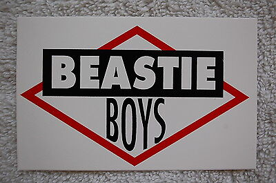 Beastie Boys Rock Sticker Decal (S176) Car Window Bumper Rap Wu Tang