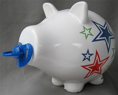 Unique Collectable OINK Ceramic Pig Money Box THE BABY BOY MONEY BOX