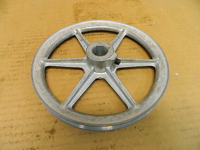 """Congress Drives 7"""" Pulley Sheave 1 Groove 3/4"""" Bore New"""