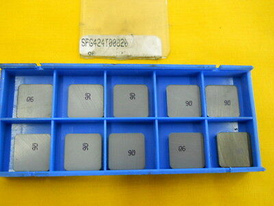 10 New Indexable Ceramic Cutting Tool Inserts Valenite Spg 424 T
