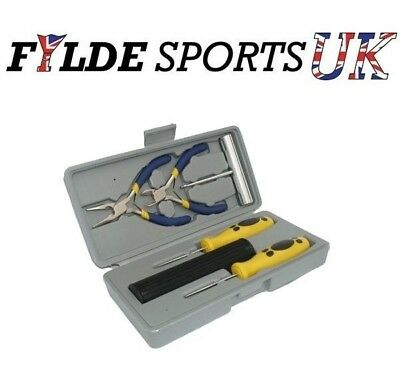 Pro Racket Stringing Tool Box - Stringing Awls, Pliers, Cutters in a box