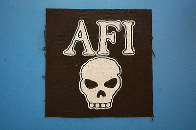AFI Cloth Patch (CP76) Punk Rock Jacket Backpatch Misfits Bad Religion