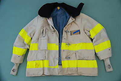 CAIRNS Firefighter Turnout CHIEF JACKET (Variable Size) off white  #59