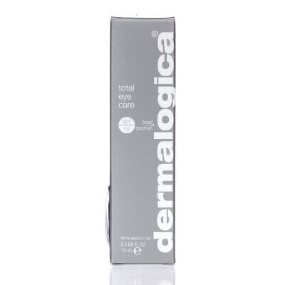 Dermalogica Total Eye Care With SPF 15 0.5oz/15ml FRESH SAME DAY SHIPPING