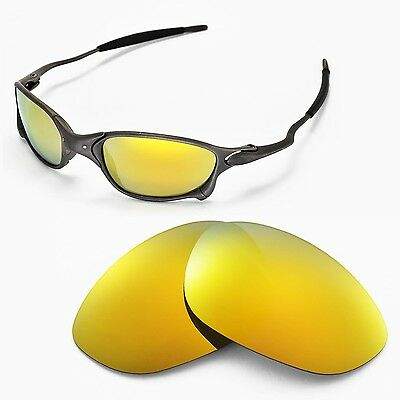 New Walleva Polarized 24K Gold Lenses For Oakley X Metal XX