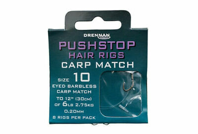 Brand New Drennan Quick Stops On Hair Rigs - All Types & Sizes Available