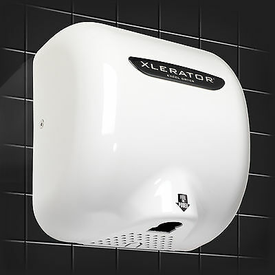Fastest Commercial Electric Hand Dryer, XL, Excel Dryer Xlerator Dries in 10 Sec