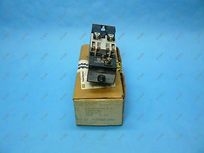 Square D 8501XO40XLV02 AC Mechanical Latching Relay 4 Pole 120 VAC Coil New