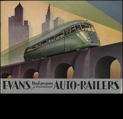 Vintage Old Transport Poster Auto Railers 1930's Print Art A4 A3 A2 A1
