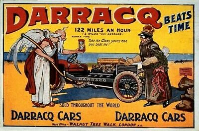 Vintage Old Transport Poster Grandes Fiesta Malaga Print Art A4 A3 A2 A1