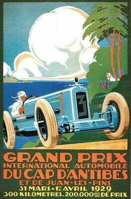 Vintage Old Transport Poster Lyon Air Show 1910 Print Art A4 A3 A2 A1