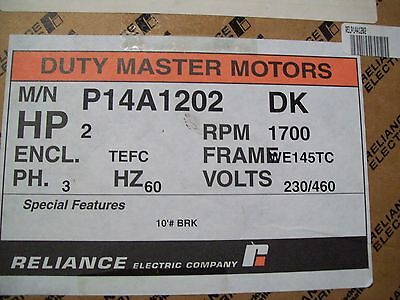 RELIANCE DUTY MASTER MOTOR P14A1202
