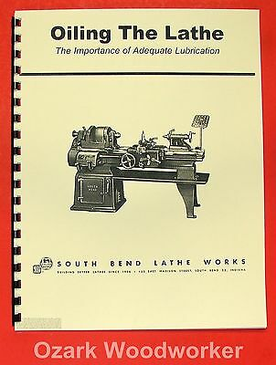 SOUTH BEND Oiling The Lathe Manual 0699