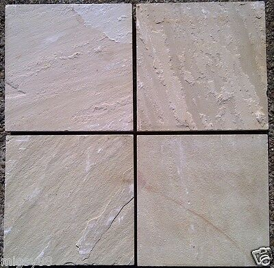 """Pavers 400x400x40mm """"Himalayan Sandstone"""" Selling by the Square Metre"""