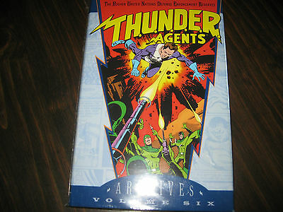 Thunder Agents Archives Vol. 6 DC Comics Wally Wood