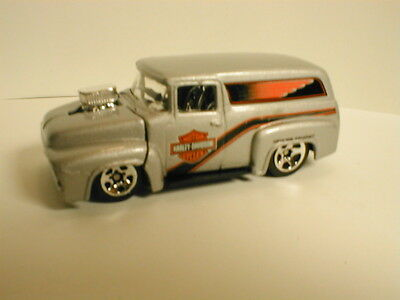 Hot Wheels /'56 Ford Panel Silver Harley Davidson 5-Pack Exclusive D6