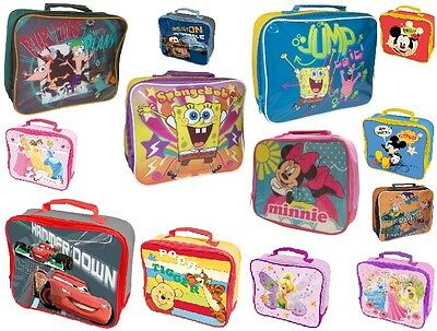 Childrens Novelty Tv Characters School Lunch / Hand Bags Boys / Girls Great Gift