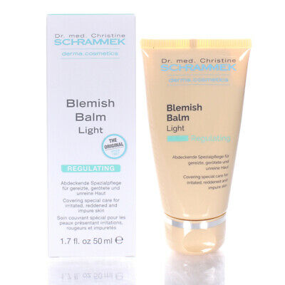 Dr. Schrammek Blemish Balm 1.7oz/50ml Light NEW SAME DAY SHIPPING BB CREAM