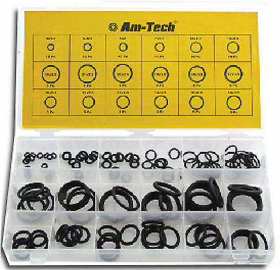 225 x Assorted Box Set of Metric O Rings ORing Plumbing Seal Washers NEW UK