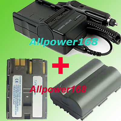 Battery + Charger For Canon BP-511 PowerShot G6 G5 Pro 1 Rebel EOS Powershot