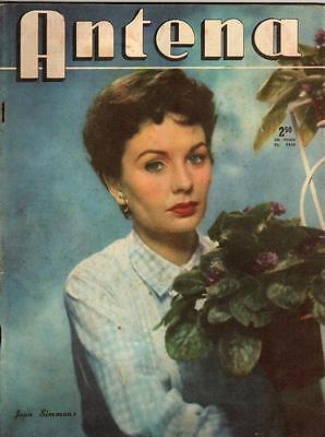 JEAN SIMMONS ,Antena ,Cover in Argentina Magazine ,1957