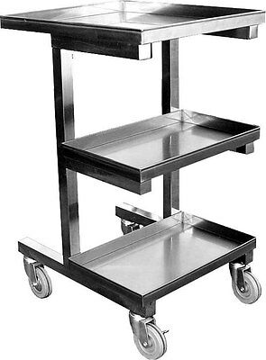 Stainless Steel Sauce Cart For Chinese Wok Range C-SCE