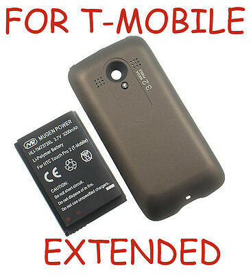 NEW MUGEN 3200mAh XL EXTENDED BATTERY + BACK DOOR FOR TMOBILE HTC TOUCH PRO-2