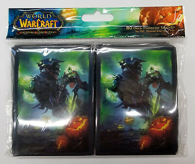 UDE Official Horde Card Deck Protector Sleeves 75ct World of Warcraft WoW