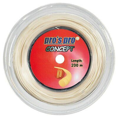 Pro's Pro Concept 1.33mm 15L Tennis Strings 200M Reel