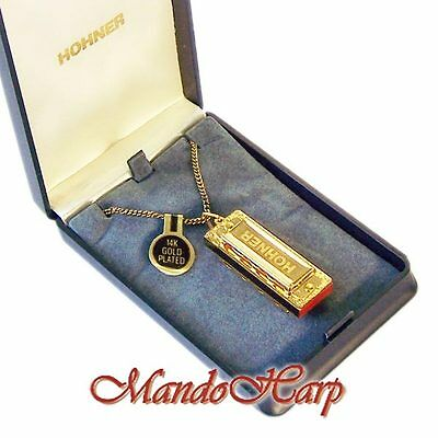Hohner Miniature Harmonica - 110 Gold Little Lady NEW