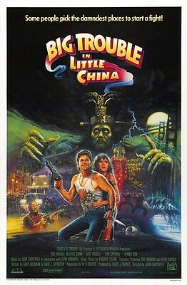 Big Trouble In Little China 2 B-Movie Reproduction Art Print A4 A3 A2 A1