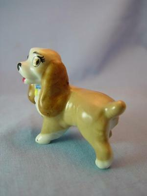 WADE DISNEY LADY  DOG HAT BOX LADY & TRAMP 1956 VGC ref 77 - IMMACULATE