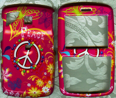 Pink Peace HARD COVER CASE PANTECH REVEAL C790 AT&T