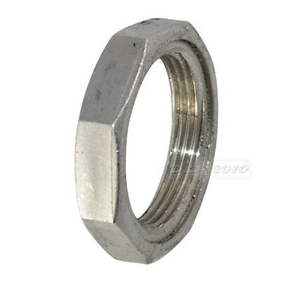 """1.5"""" LOCKNUT 1 1/2"""" NPT 304 STAINLESS STEEL LOCK NUT O-Ring Groove Pipe fitting"""