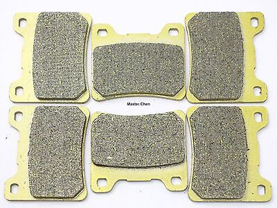 Front Rear Brake Pads For Yamaha V-MAX VMX 12 VMAX V MAX 1989 1990 1991 1992 SET