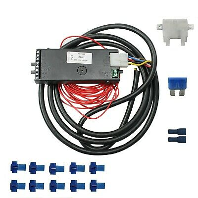 PCT Automotive ZR2500 Logicon Towing Interface 7 Way Bypass Relay Full Kit