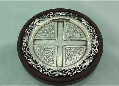 Persian Or Eastern European Solid Silver Ash Tray