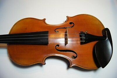 Antique  Old  J. Thibouville-Lamy  Violin  4/4  French  Jtl  Le  Stentor  Ii
