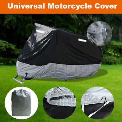 XL Large Size Motorcycle Cover For Cruiser Street Chopper Touring Bikes ZM3BS