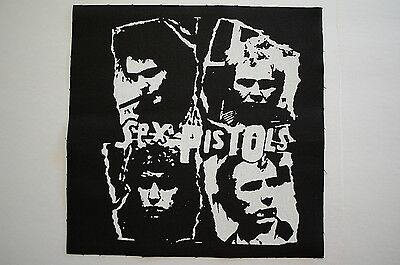 Sex Pistols Backpatch (BP59) Punk Rock Back Patch Adicts Subhumans Johnny Rotten