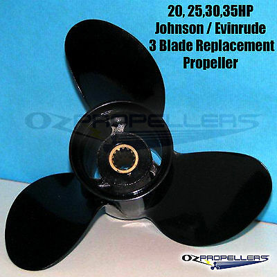Johnson Evinrude Prop Propeller 20 25 30 35Hp Engines
