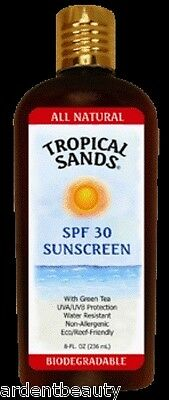 Tropical Sands SPF 30 Natural Mineral Sunscreen, Unscented